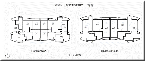 Jade at Brickell Site Plan